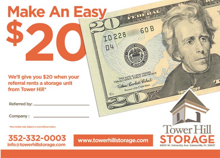 $20 referral reward